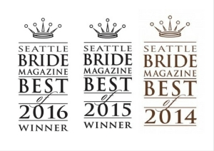 Seattle's Best Wedding Planner with Seattle Bride Magazine