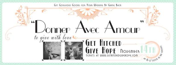 Get Hitched Give Hope|Perfectly Posh Events