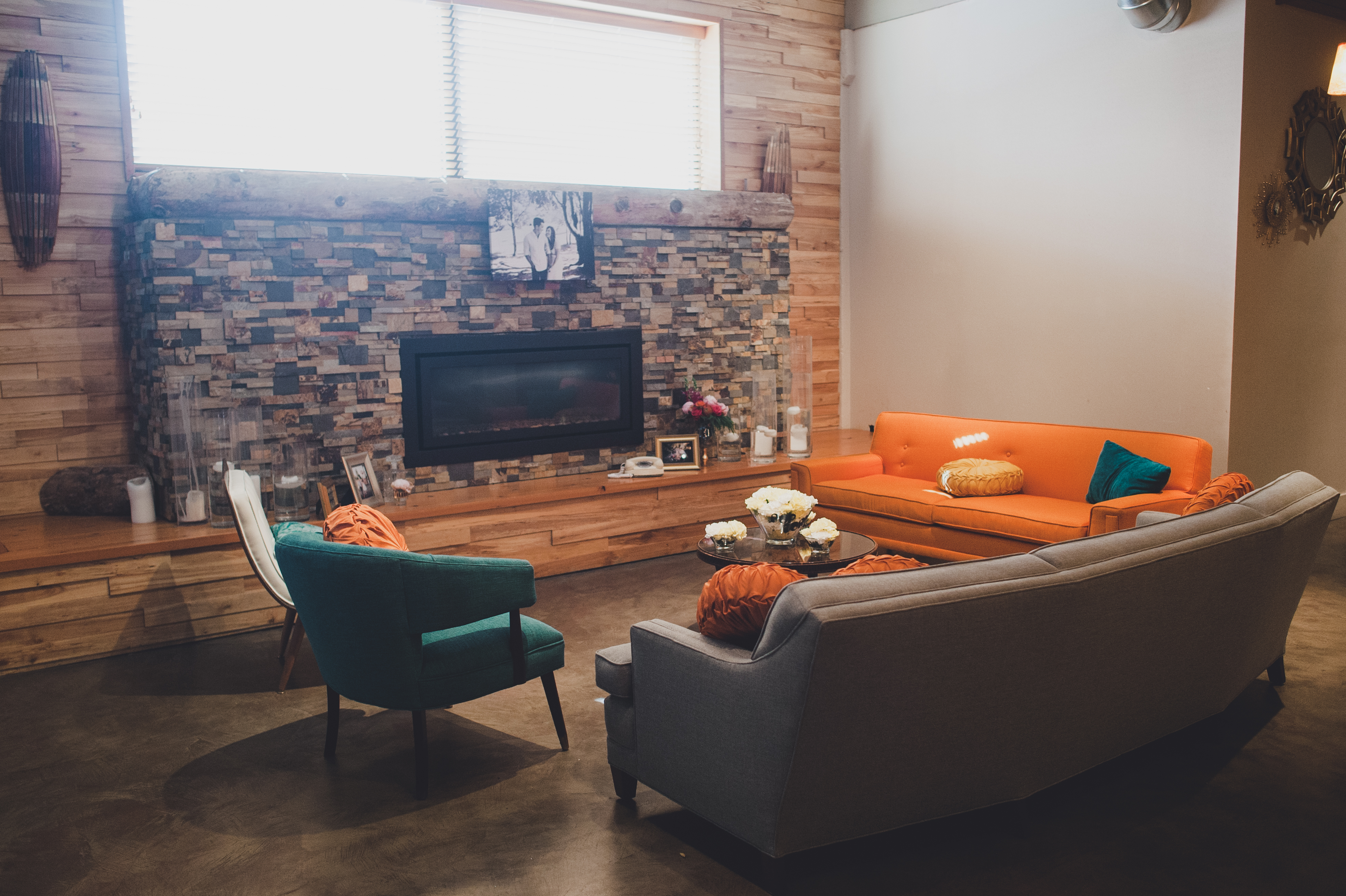 Mid Century Modern Wedding at The Foundry