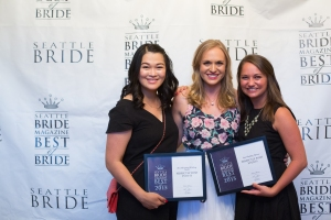 Seattle's Best Wedding Planner Award goes to Perfectly Posh Events