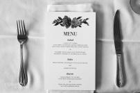 Seattle Tennis Club wedding in Seattle | Vibrant floral menu | Perfectly Posh Events, Seattle Wedding Planner | JTobiason Photography | Minted | Wedding Paper Divas