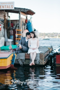 Center for Wooden Boats Wedding in Seattle