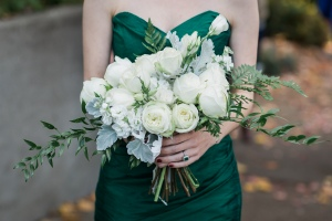 Seattle Wedding Planner Workshop | Photo by Amy Galbraith Photography | Green Wedding Dress