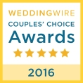 Wedding Wire Couple's Choice Award for Best Wedding Planner