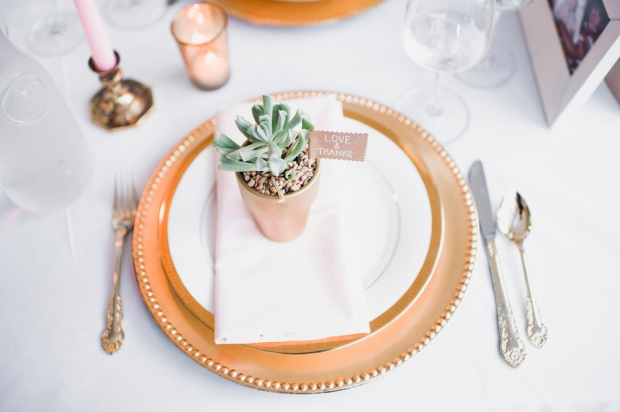 Glen Acres Golf Club wedding in Seattle | Potted succulents as wedding favors | Perfectly Posh Events, Seattle Wedding Planner | Barrie Anne Photography | Butter & Bloom