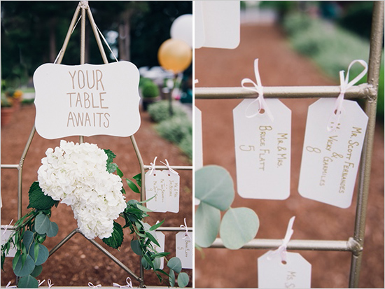 Glen Acres Golf Club wedding in Seattle | Romantic table assignment sign | Perfectly Posh Events, Seattle Wedding Planner | Barrie Anne Photography