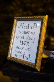 Robinswood House Wedding in Bellevue   Creative bar sign   Perfectly Posh Events, Seattle Wedding Planner   Courtney Bowlden Photography