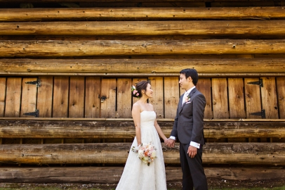 Robinswood House Wedding in Bellevue   Outdoor wedding log cabin background   Perfectly Posh Events, Seattle Wedding Planner   Courtney Bowlden Photography