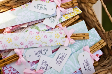 Robinswood House Wedding in Bellevue   Custom engraved chopsticks as wedding favors   Perfectly Posh Events, Seattle Wedding Planner   Courtney Bowlden Photography   Chopstick wedding favors