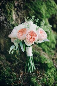 Glen Acres Golf Club | Seattle | Seattle Wedding Planner | Perfectly Posh Events | Barrie Anne Photography | Butter and Bloom | Pink Bridal bouquet with David Austin garden roses