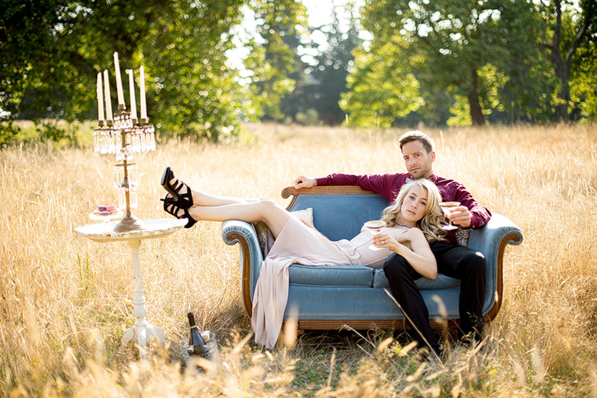 Seattle Wedding Planner | Kimberly Kay Photography | Vintage Ambiance | Discovery Park | Vintage Chic | Engagement Photo Shoot