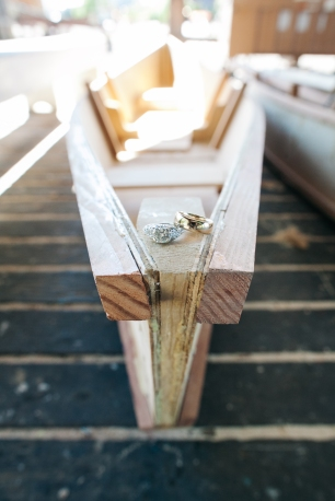 Center for Wooden Boats wedding in Seattle   Nautical wedding ring shot   Perfectly Posh Events, Seattle Wedding Planning   Kathryn Moran Photography