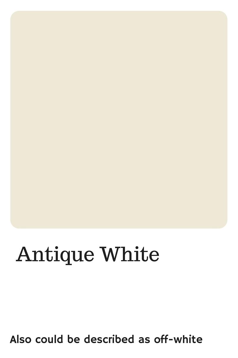 Off white color