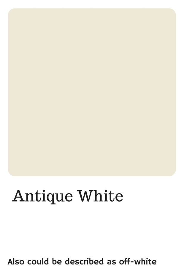 Shades of White to use in your wedding   Pantone Color, Antique White   Perfectly Posh Events