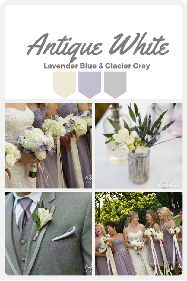 White Wedding Color Swatches from Pantone   Real wedding with Pantone color, Antique White   Design + Coordination by Perfectly Posh Events   Azzura Photography   Flowers by Sublime Stems