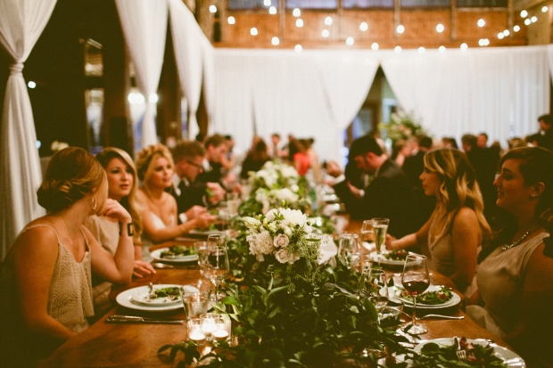 Choosing the Right Dinner Service | Family Style Examples | Perfectly Posh Events | Andria Lindquist Photography