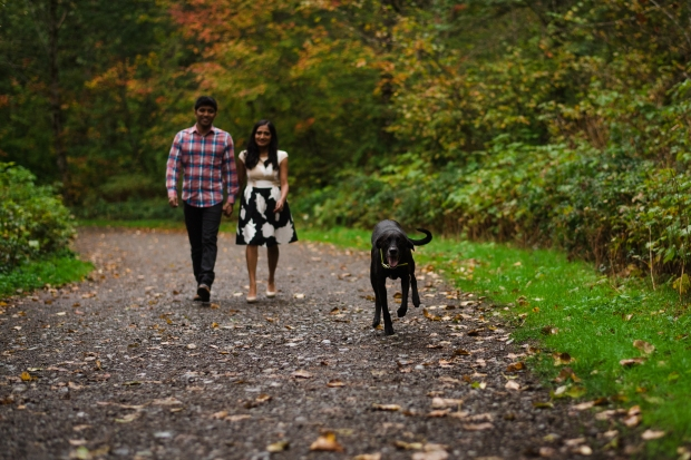 PNW Engagement Shoot | Seattle park engagement shoot with dog | Perfectly Posh Events | Shane Macomber Photography