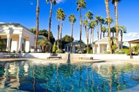 Merv Griffin Estate, Palm Springs wedding venue   pool view   Perfectly Posh Events, Seattle and Portland Wedding Planner