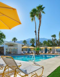 The Monkey Tree Hotel, Palm Springs wedding venue   poolside view   Perfectly Posh Events, Seattle and Portland Wedding Planner