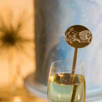 Get Hitched, Give Hope 2017   GHGH drink with sign   The Four Seasons Seattle   Perfectly Posh Events, Seattle and Portland Wedding Planner